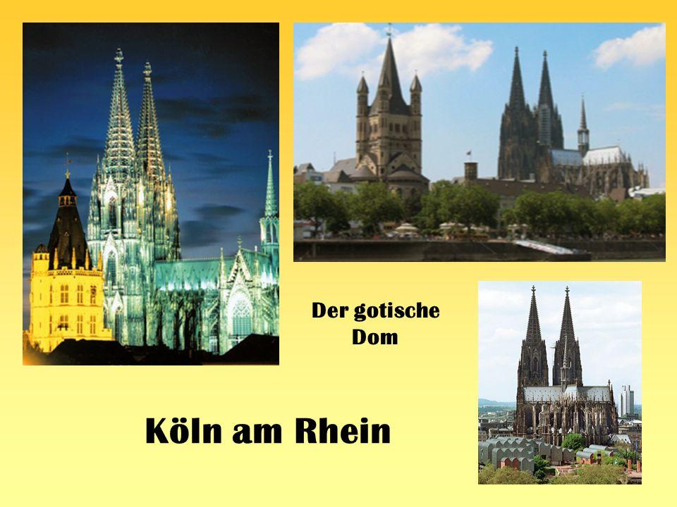 Köln am Rhein Der gotische Dom