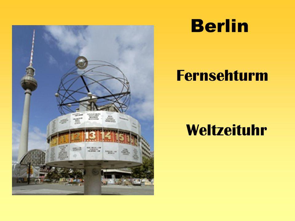 Fernsehturm Weltzeituhr