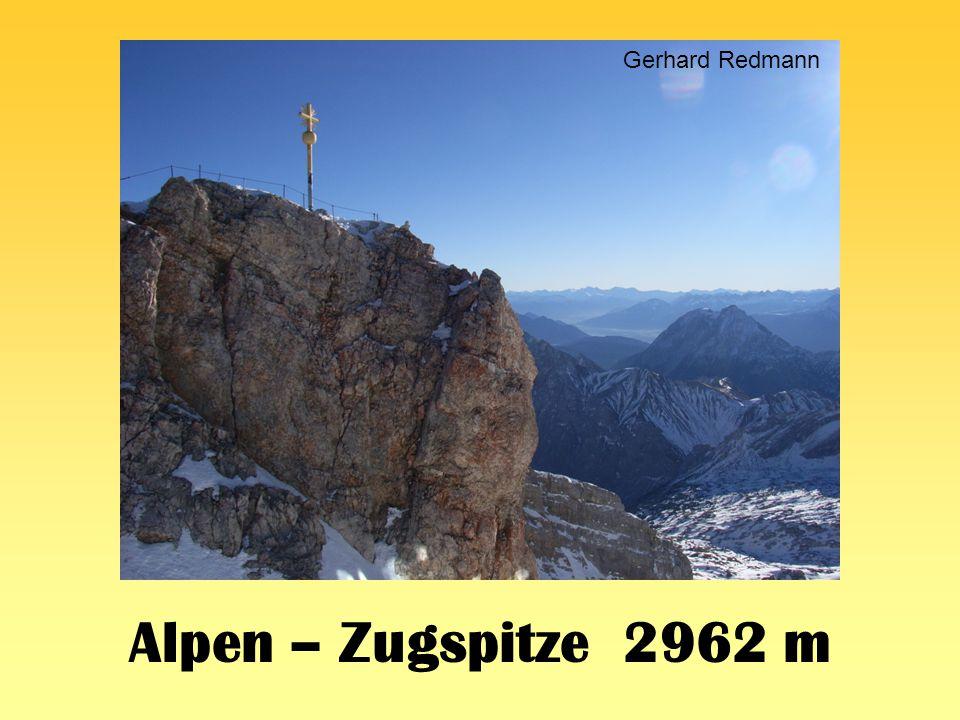 Alpen – Zugspitze 2962 m Gerhard Redmann