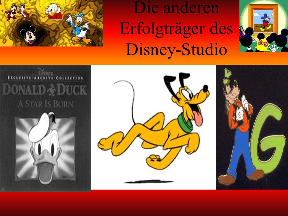 Die anderen Erfolgträger des Disney-Studio