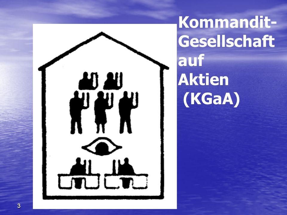 3 Kommandit- Gesellschaft auf Aktien (KGaA)