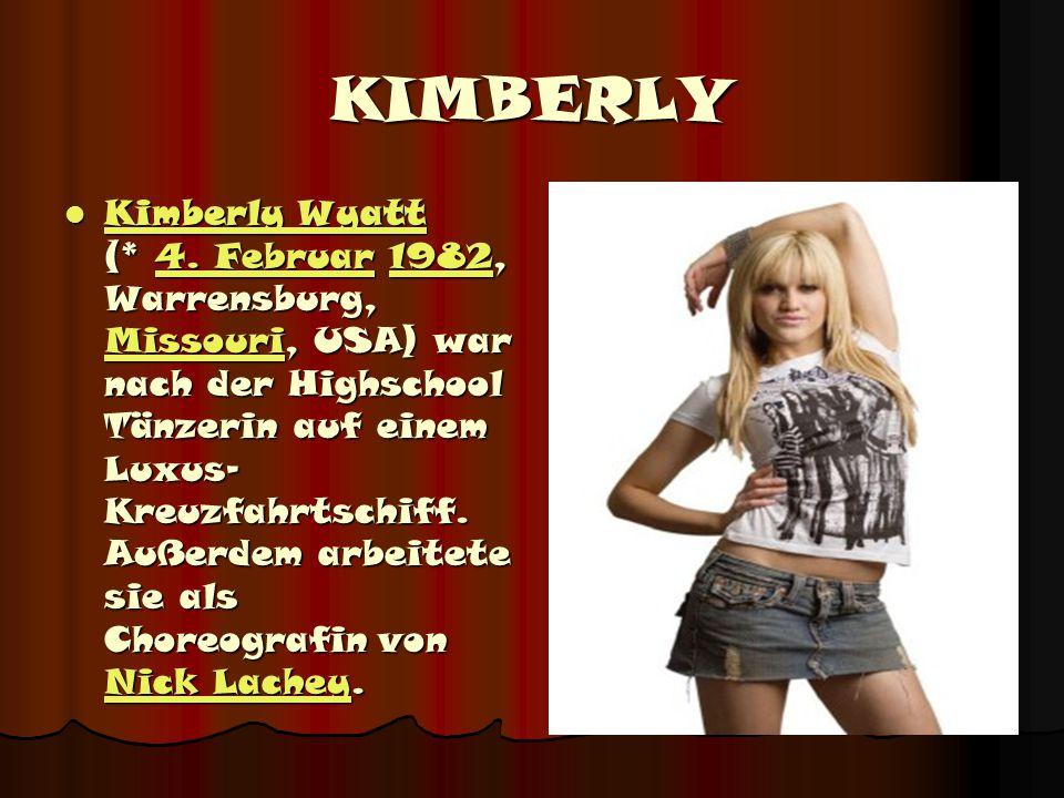 KIMBERLY Kimberly Wyatt (* 4.