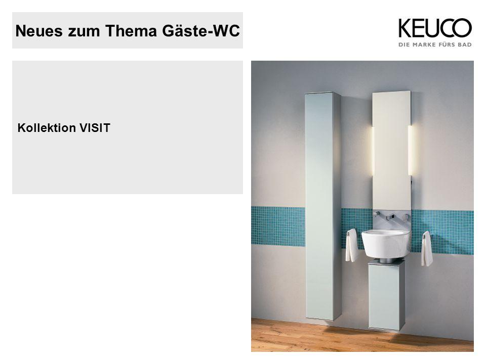Neues zum Thema Gäste-WC Kollektion VISIT