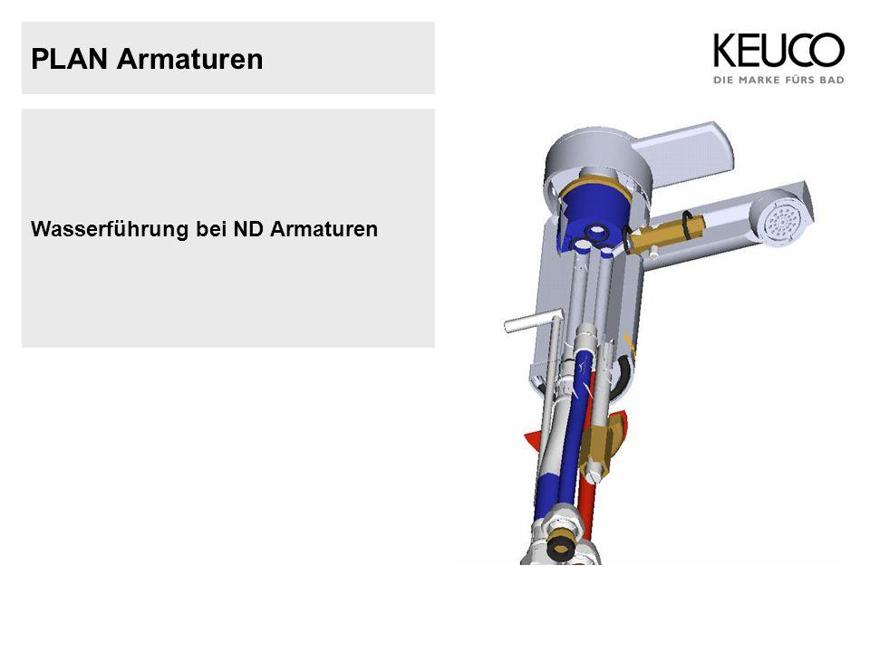 PLAN Armaturen 54920Einhebel Wannenmischer DN 15 für AP Montage mit automatischer Umstellung Wanne / Brause Schlauchanschluss DN 15 Eigensicher gegen Rückfließen Stichmaß 150 +/- 20 mm Durchfluß ca.