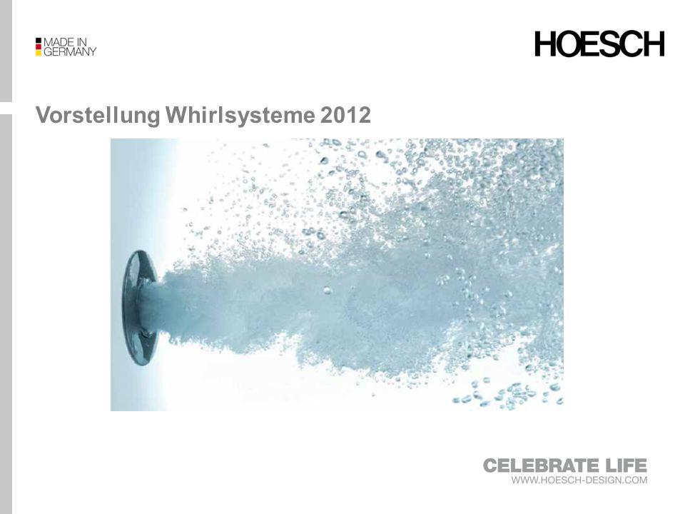 Vorstellung Whirlsysteme 2012