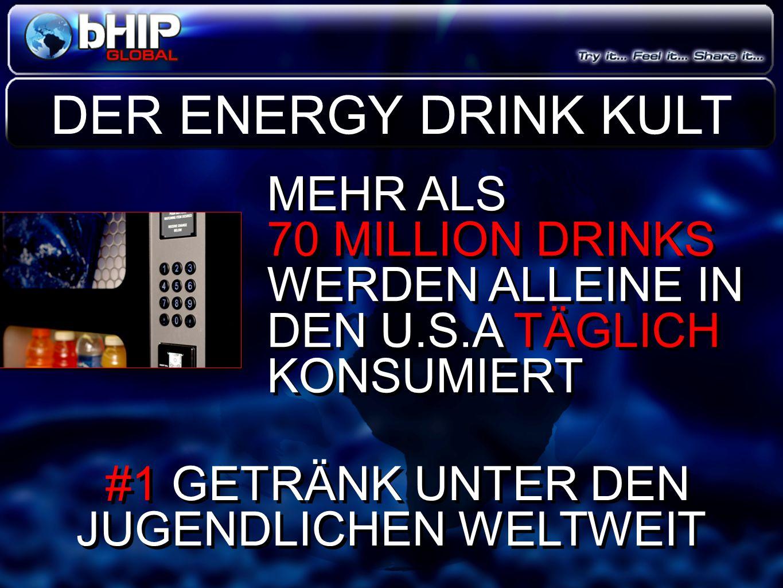MEHR ALS 70 MILLION DRINKS WERDEN ALLEINE IN DEN U.S.A TÄGLICH KONSUMIERT MEHR ALS 70 MILLION DRINKS WERDEN ALLEINE IN DEN U.S.A TÄGLICH KONSUMIERT DE