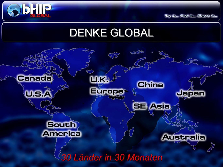 DENKE GLOBAL 30 Länder in 30 Monaten