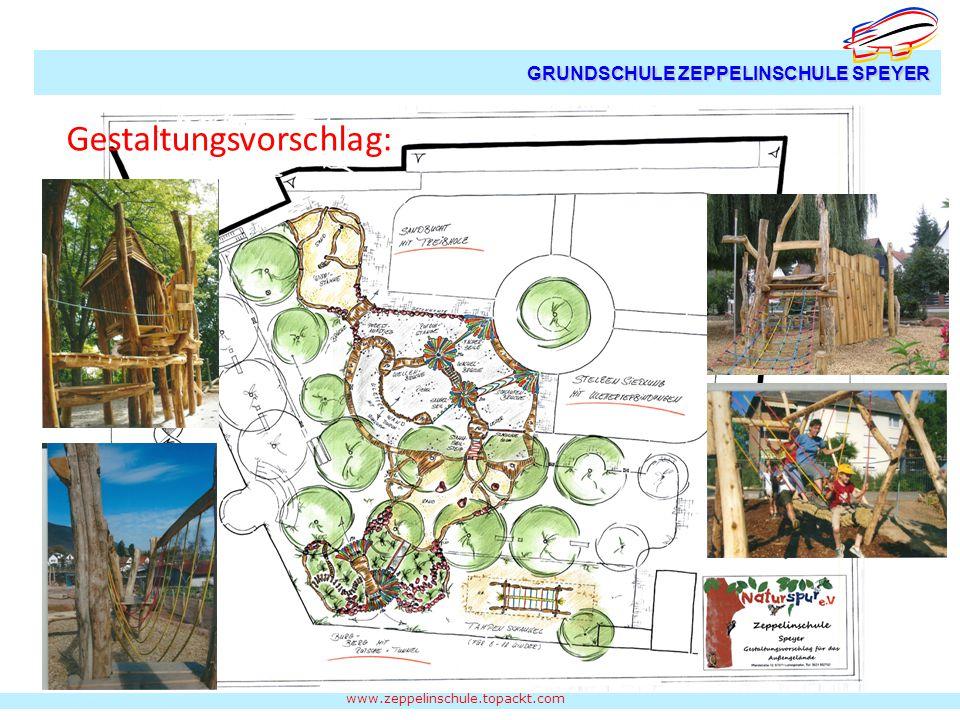 www.zeppelinschule.topackt.com GRUNDSCHULE ZEPPELINSCHULE SPEYER Gestaltungsvorschlag: