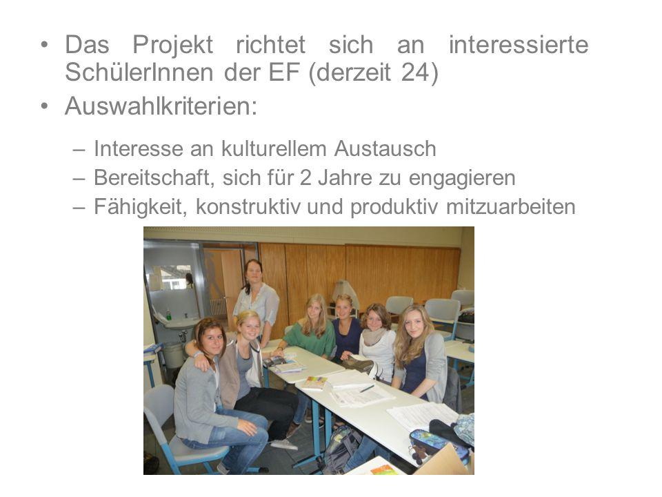 Ergebnisse Präsentationen auf Englisch zu vorher erarbeiteten Themen Ergebnisse einsehbar auf: http://comenius2013.wordpress.com