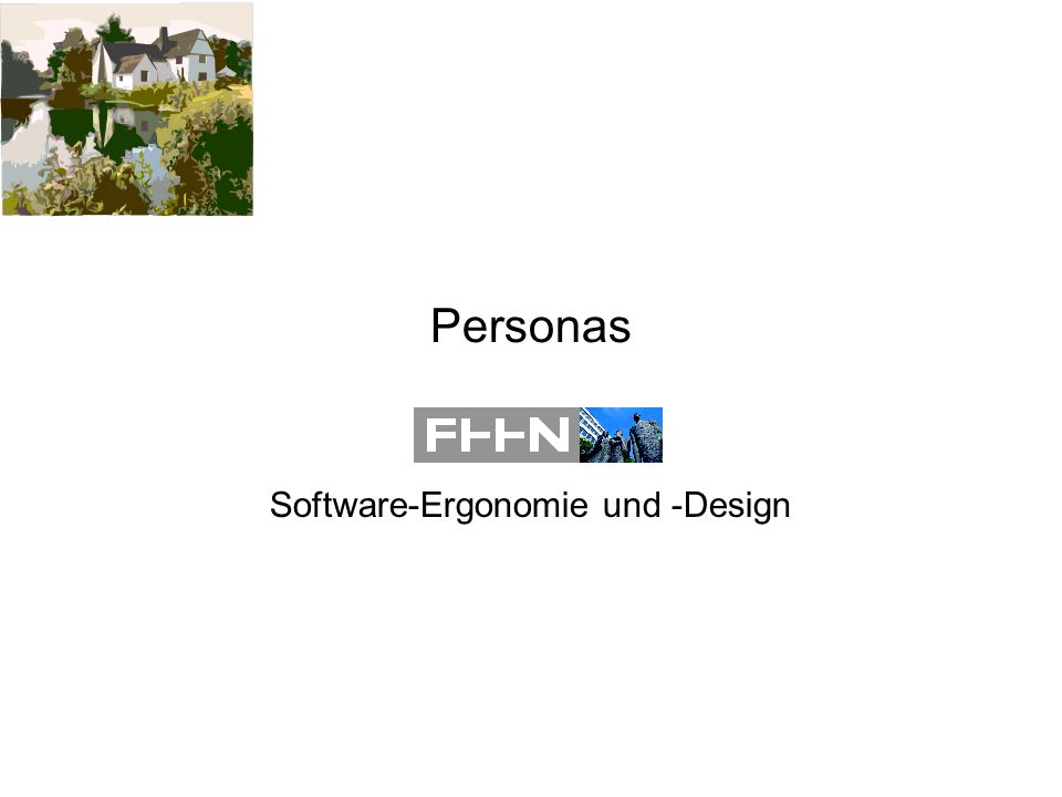 Personas Software-Ergonomie und -Design