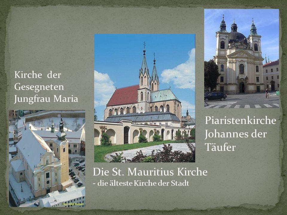 Aus Kroměříž stammen auch einige berühmte Persönlichkeiten, wie z.B.