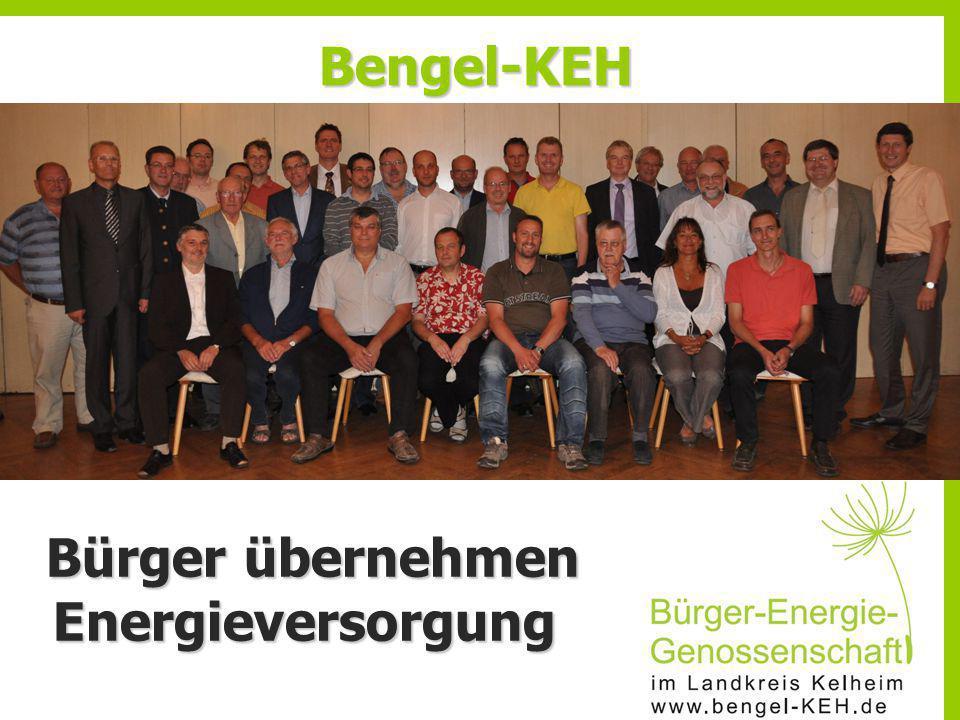 Bengel-KEH Bürger übernehmen Energieversorgung Bürger übernehmen Energieversorgung