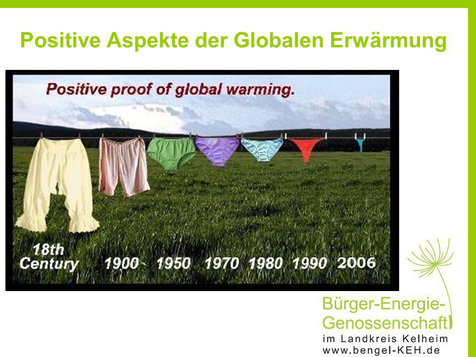 Positive Aspekte der Globalen Erwärmung