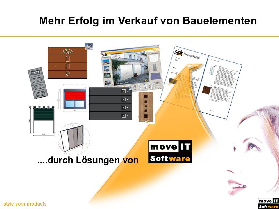 style your products Benefits im Durchschnitt Kundenzufriedenheit: 1,4 Basis: User aus Bereich Bauelemente/Baustoffe (D/A/CH) Benefits unserer Handelskunden