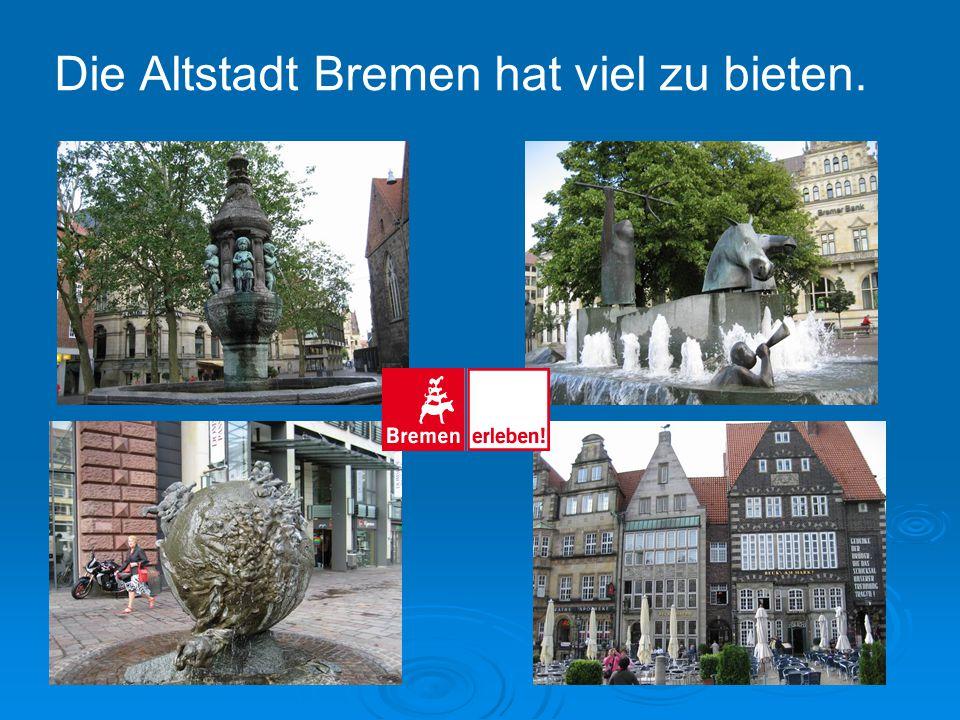 Der historische Kern Bremens ist der Marktplatz mit dem romanisch-gotischen St. Petri-Dom. DER MARKTPLATZ, DER DOM