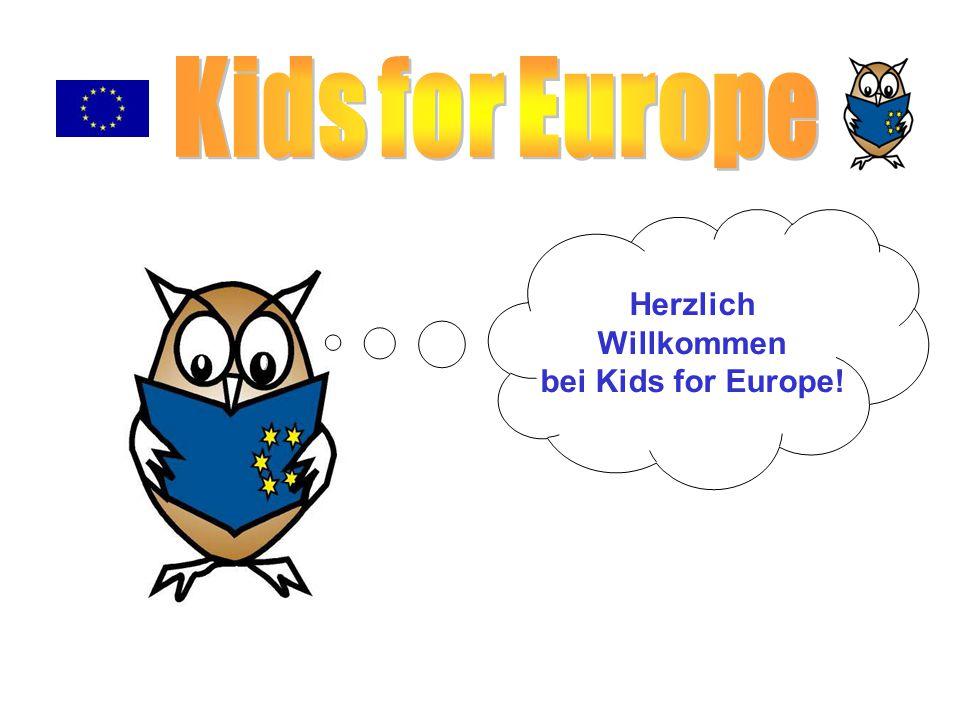 Herzlich Willkommen bei Kids for Europe!