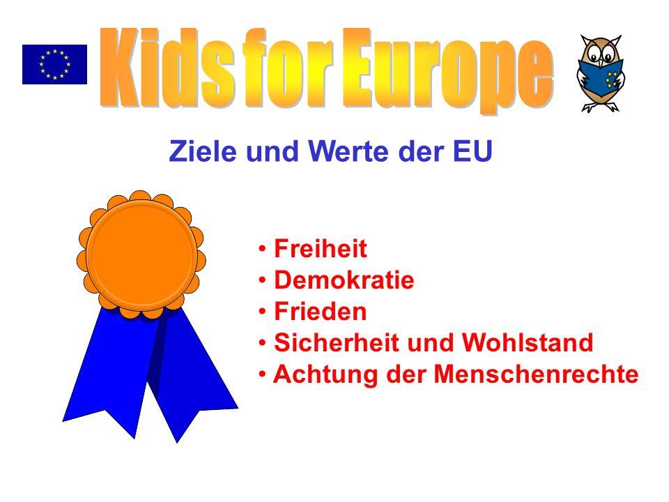 Mehr als 450 Millionen Menschen leben auf einer Fläche von 4 Millionen km 2 in der EU.