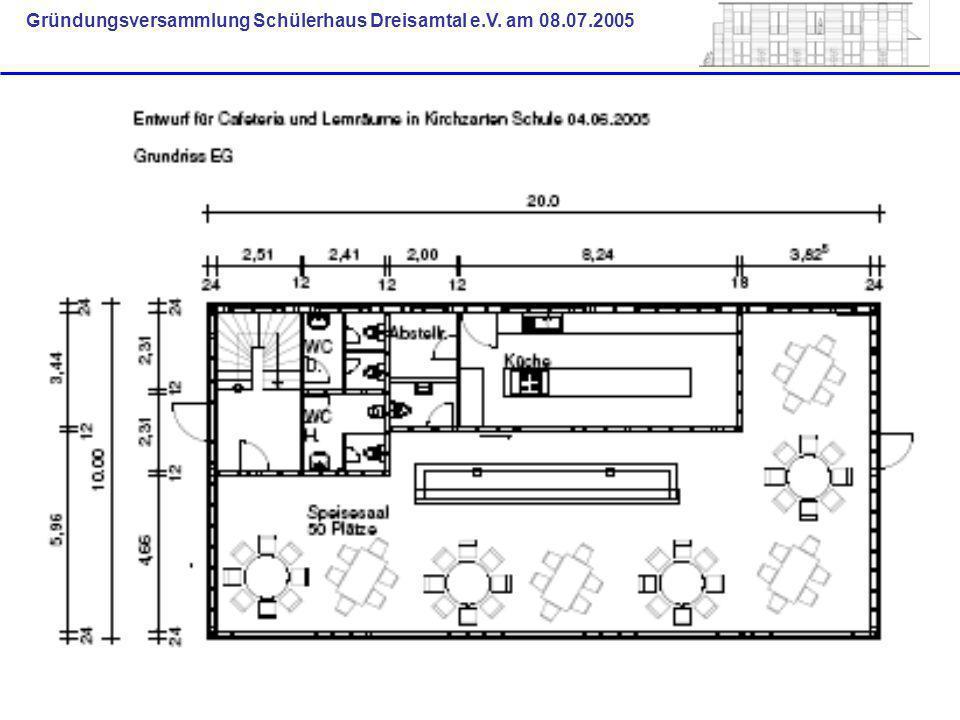 Gründungsversammlung Schülerhaus Dreisamtal e.V. am 08.07.2005