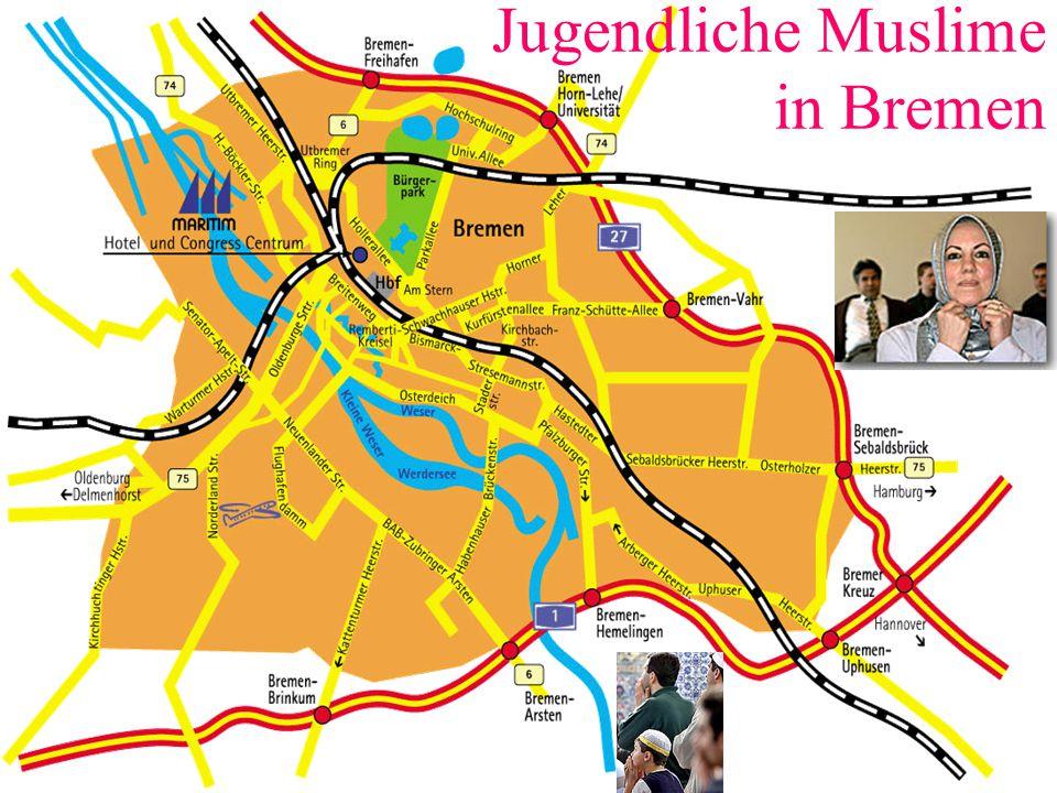 Jugendliche Muslime in Bremen