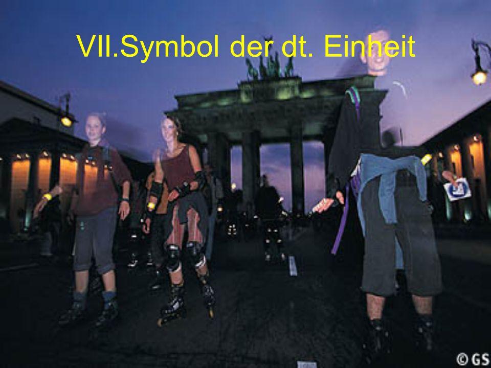 VII.Symbol der dt. Einheit