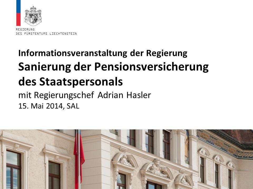 Beitrag durch höhere Beiträge und tiefere Renten: SBPVGCHF 209 Mio.