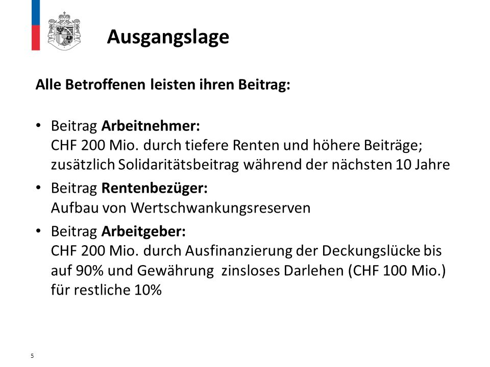 26 Die Vorlage von Regierung und Landtag ist ausgewogen...