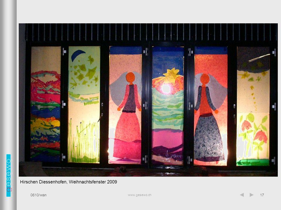 www.gesewo.ch 0610/wan17 Gemeinschaftsraum