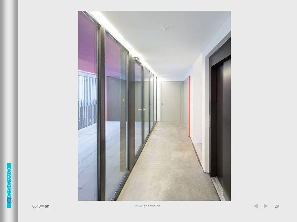 www.gesewo.ch 0610/wan29 Lift