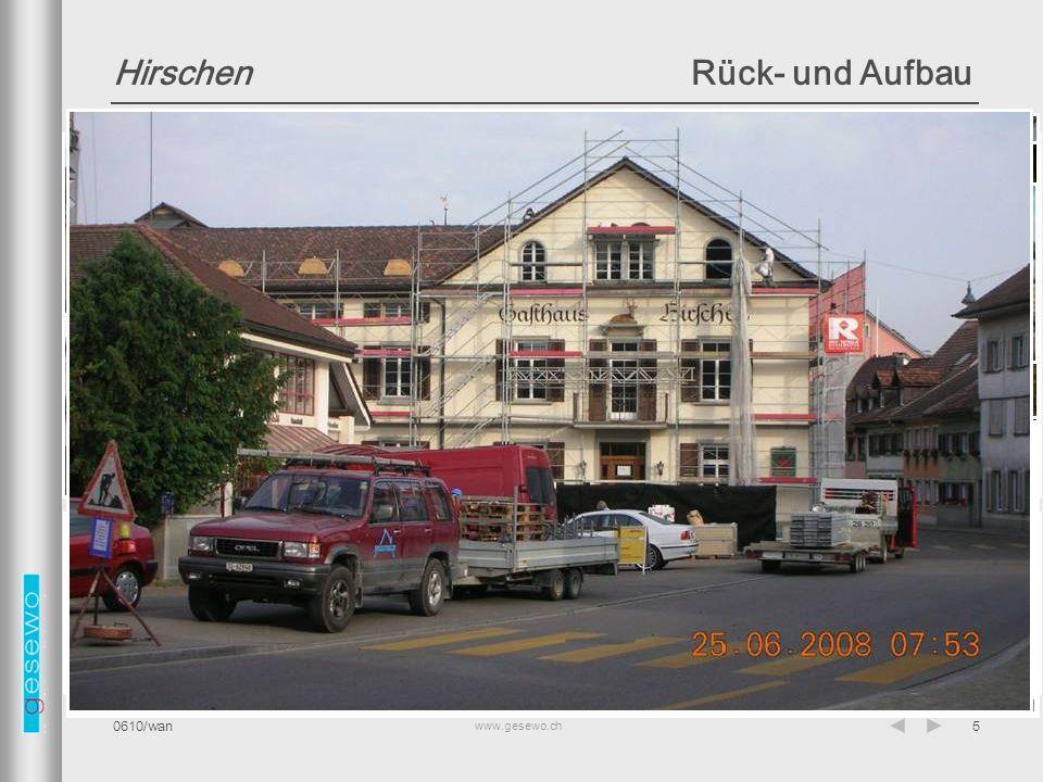 www.gesewo.ch 0610/wan16 Restaurant