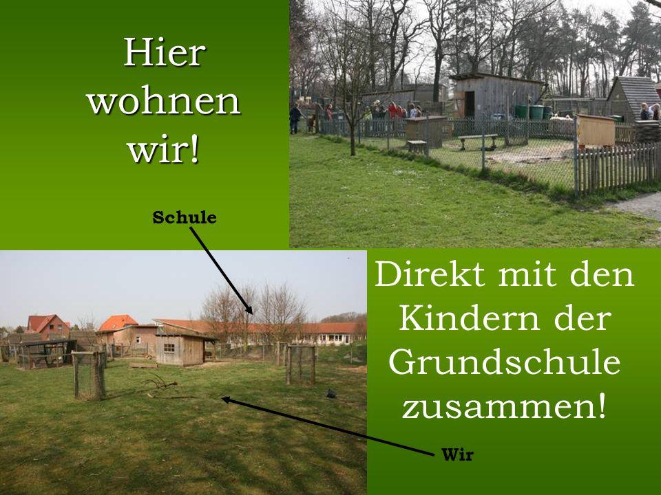 … und ihrem Bauernhof mit lauter seltenen und glücklichen Bewohnern! Mähhhhhh!!
