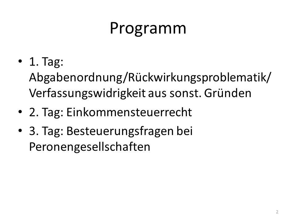 BVerfG 1 BvL 5/08: Zulässigkeit einer nachträglich klarstellenden Regelung Hintergrund: Systemwechsel des KStG; Steuerfreiheit von Dividenden § 8b Abs.