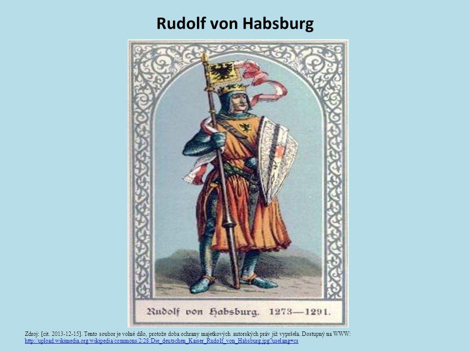 Hausmachtgebiete im dt.Reich: 1273 - 1378 Zdroj: [cit.