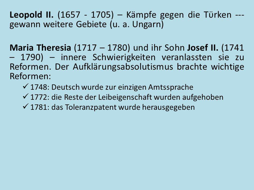 Maria TheresiaJosef II.Zdroj: [cit. 2013-12-15].