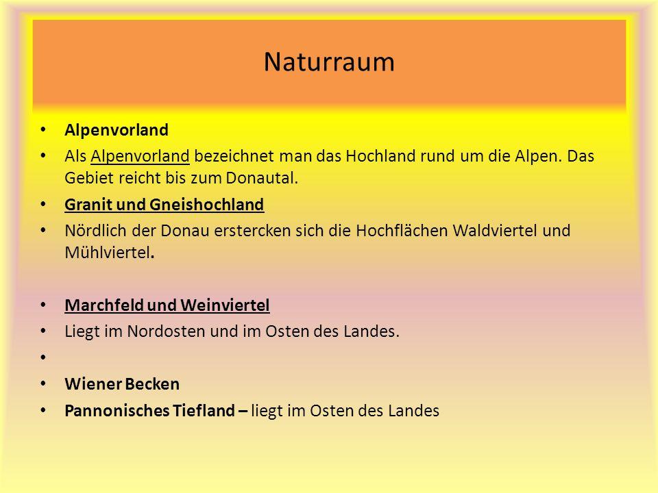 Naturraum Alpenvorland Als Alpenvorland bezeichnet man das Hochland rund um die Alpen.