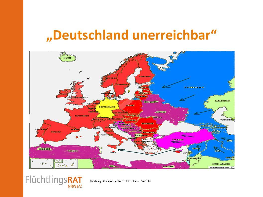 """Vortrag Straelen - Heinz Drucks - 05-2014 """"Deutschland unerreichbar"""""""