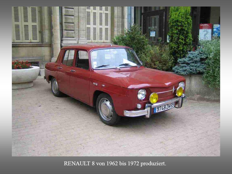 CITROEN 3CV AMI 6 : ab 1961 /.Wurde 1961 durch den formschöneren Ami 8 abgelöst.