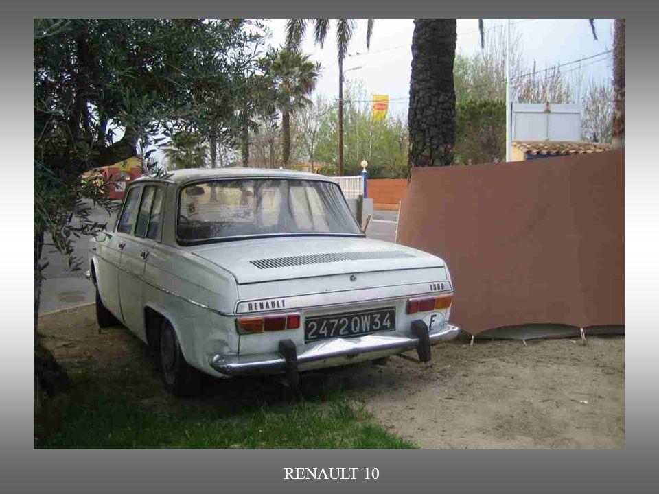 RENAULT 10, Nachfolger des Renault 8