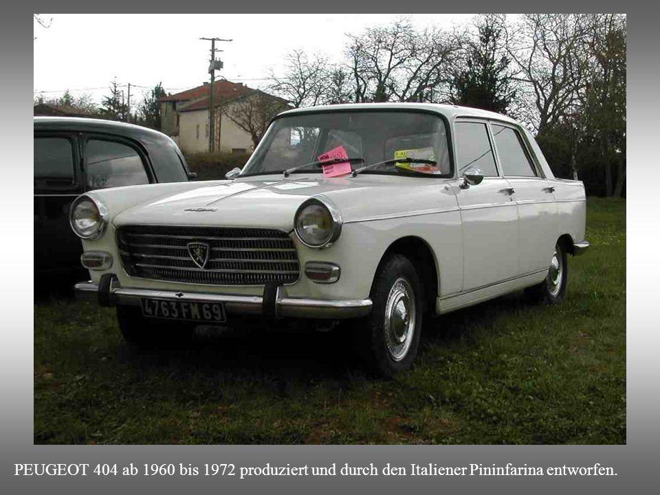 SIMCA ARIANE 4 : Wurde in Detroit entworfen, kurz bevor die amerikanischen Fordwerke in Frankreich von Simca aufgekauft wurden.