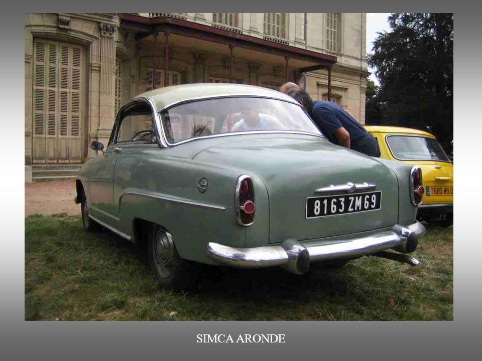 SIMCA ARONE : von 1951 bis 19 63