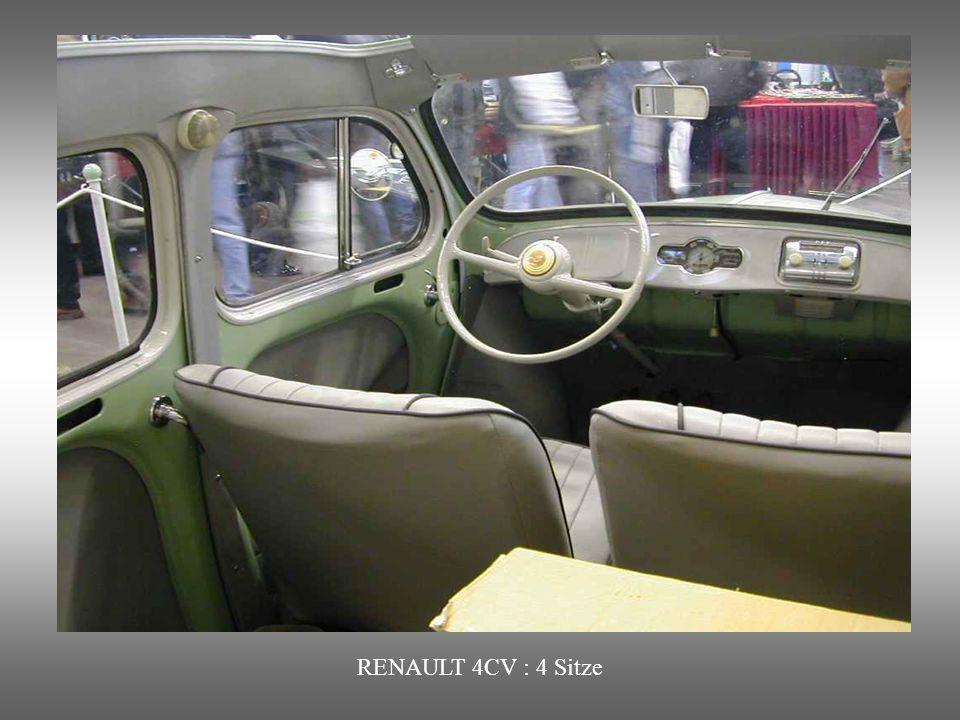 RENAULT 4 CV : Das Nachkriegswunder. Produziert von 1946 bis 1961