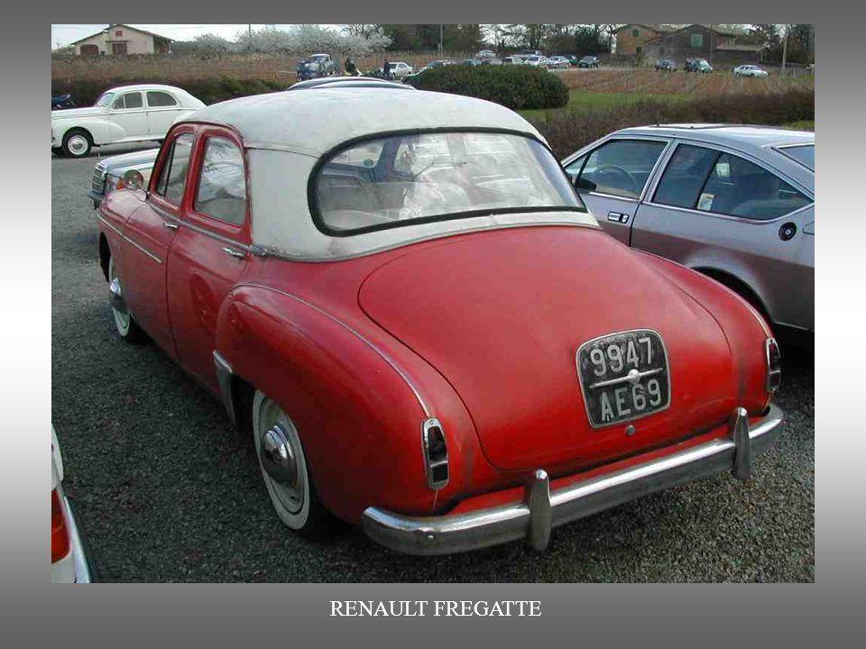 RENAULT FREGATTE : Dieses Prestige-Auto der Renault Werke wurde von 1950 bis 1960 produziert.