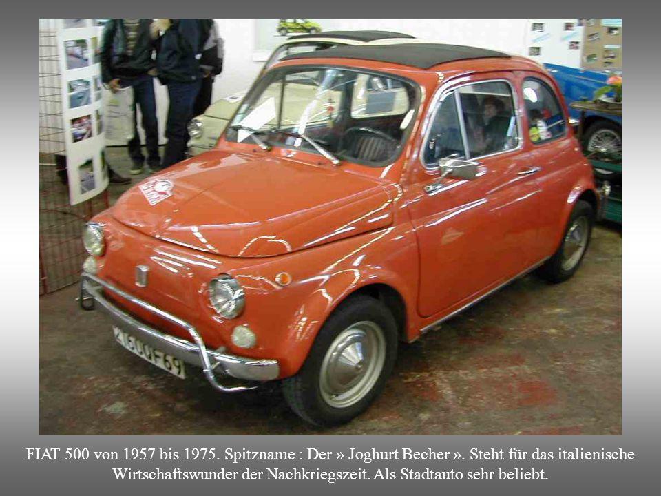 BMW 700 : Dies Modell wurde seinerzeit « der Arbeiterporsche »genannt.