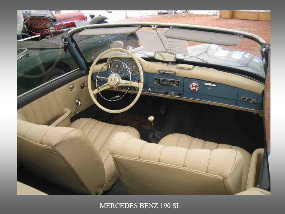 MERCEDES BENZ 190 SL : dieses deutsche Fabrikat vereint Seriosität, Leistung und Klasse