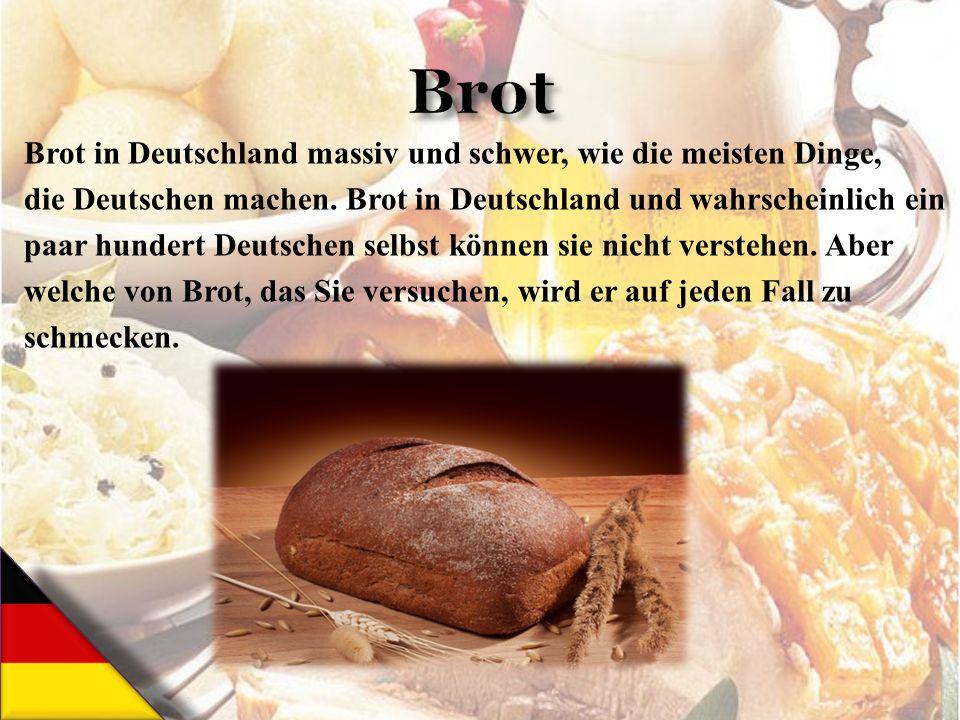 Brot in Deutschland massiv und schwer, wie die meisten Dinge, die Deutschen machen. Brot in Deutschland und wahrscheinlich ein paar hundert Deutschen