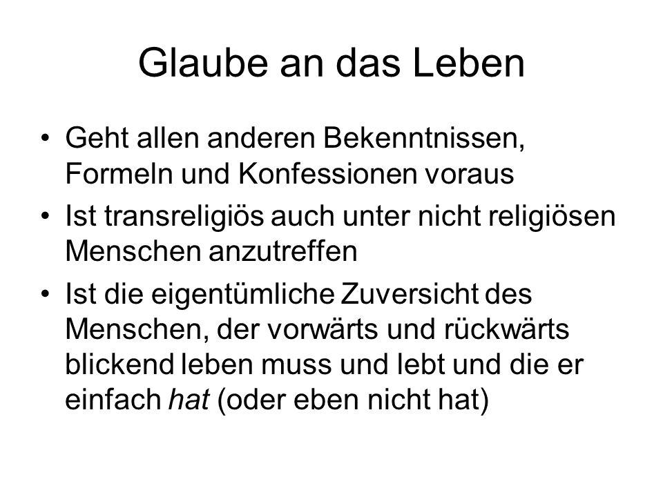 Katechismus Bis weit ins 20.