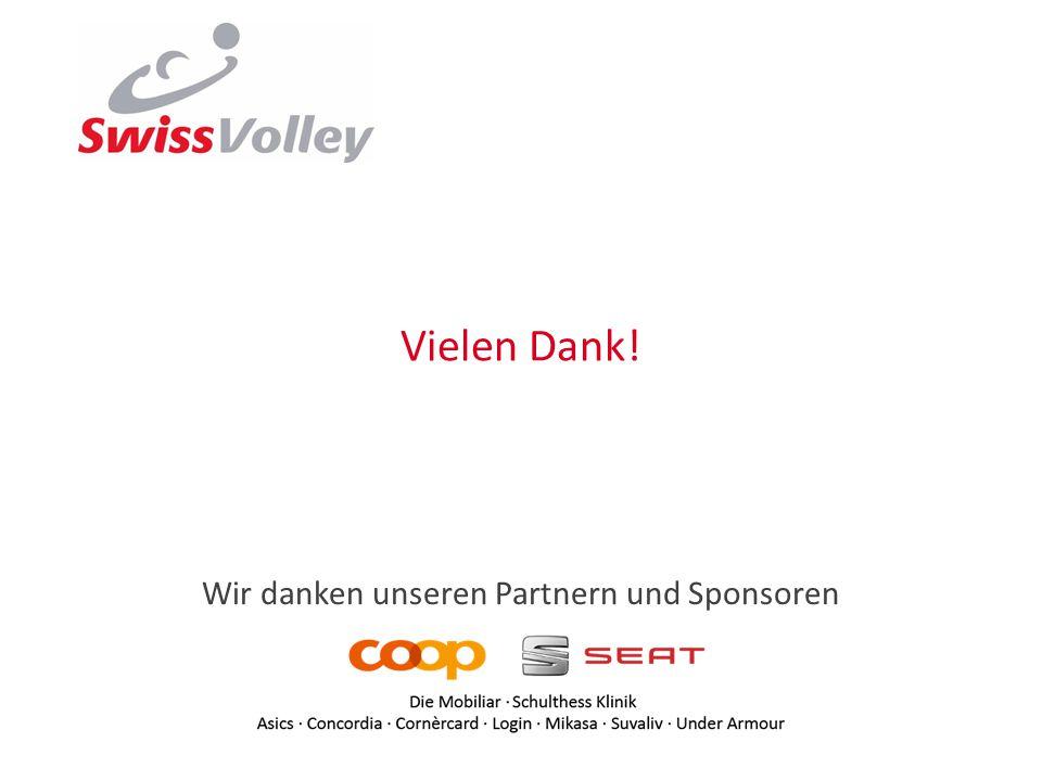 Wir danken unseren Partnern und Sponsoren Vielen Dank!