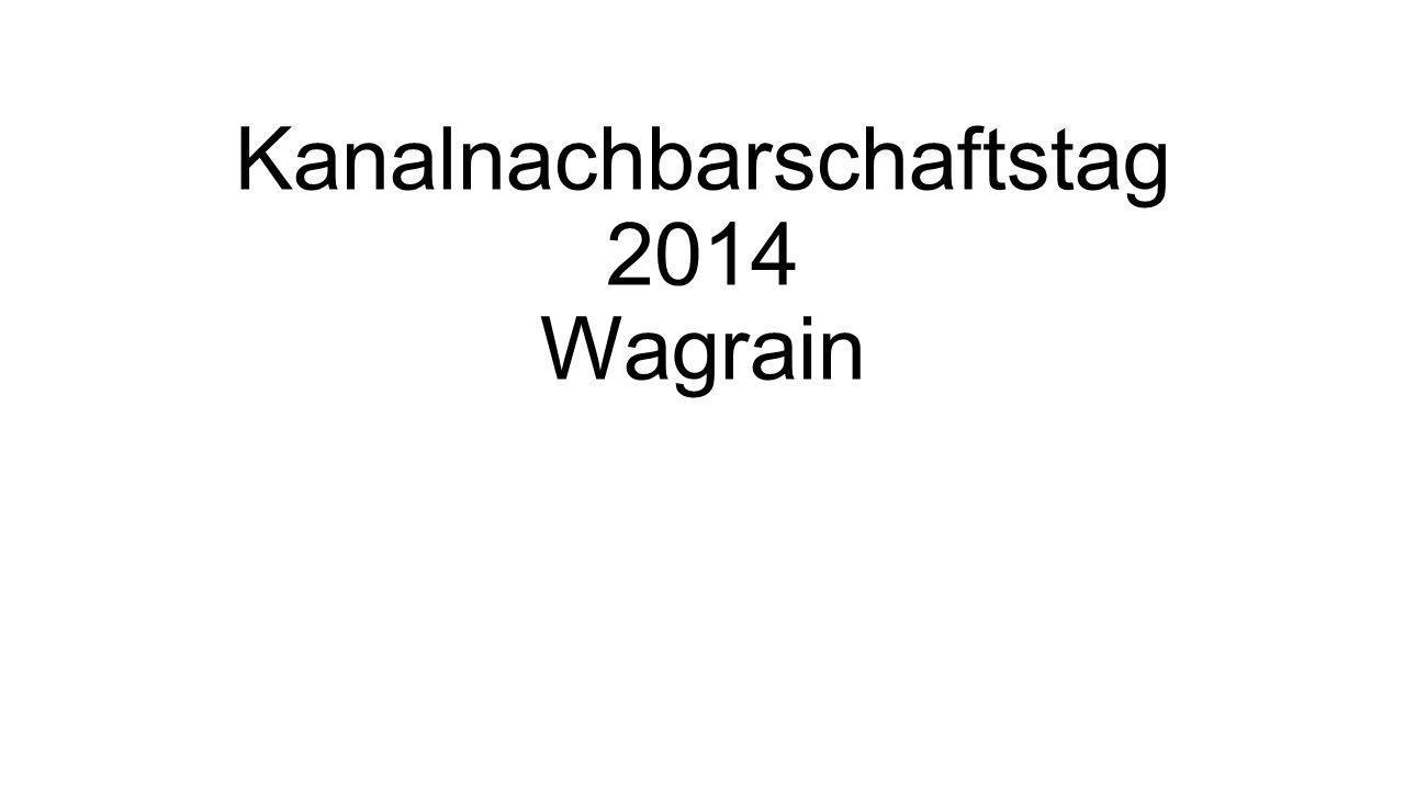 Kanalnachbarschaftstag 2014 Wagrain