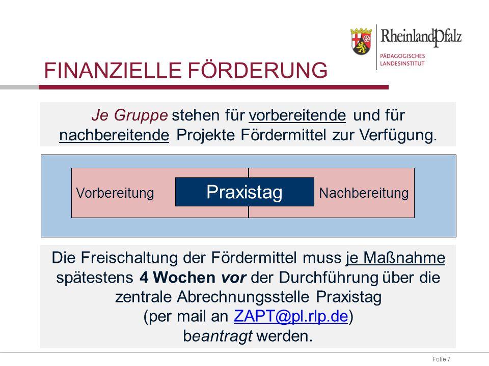 Folie 38 Vertrag ausdrucken und Vertragsabschluss mit Partner (dreifach unterschreiben) Vertrag an ADD Trier schicken Freischaltung im Portal Schule ZAPT/ PL VERTRAGSABSCHLUSS