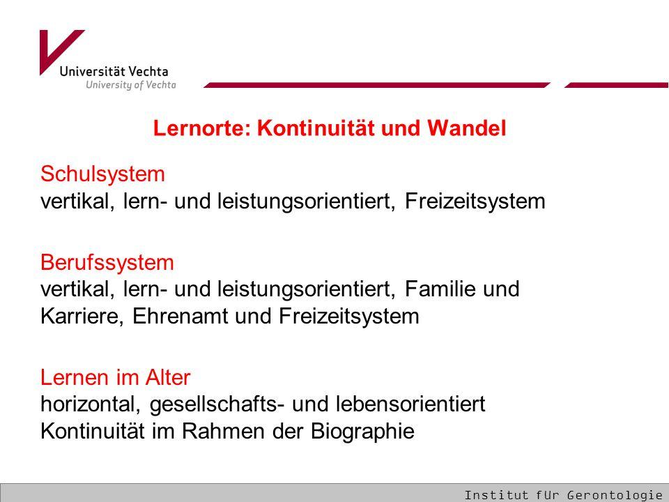 Schulsystem vertikal, lern- und leistungsorientiert, Freizeitsystem Berufssystem vertikal, lern- und leistungsorientiert, Familie und Karriere, Ehrena