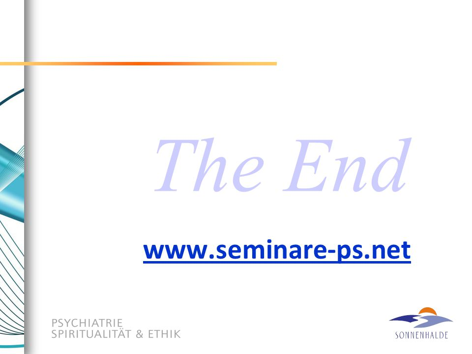 www.seminare-ps.net The End